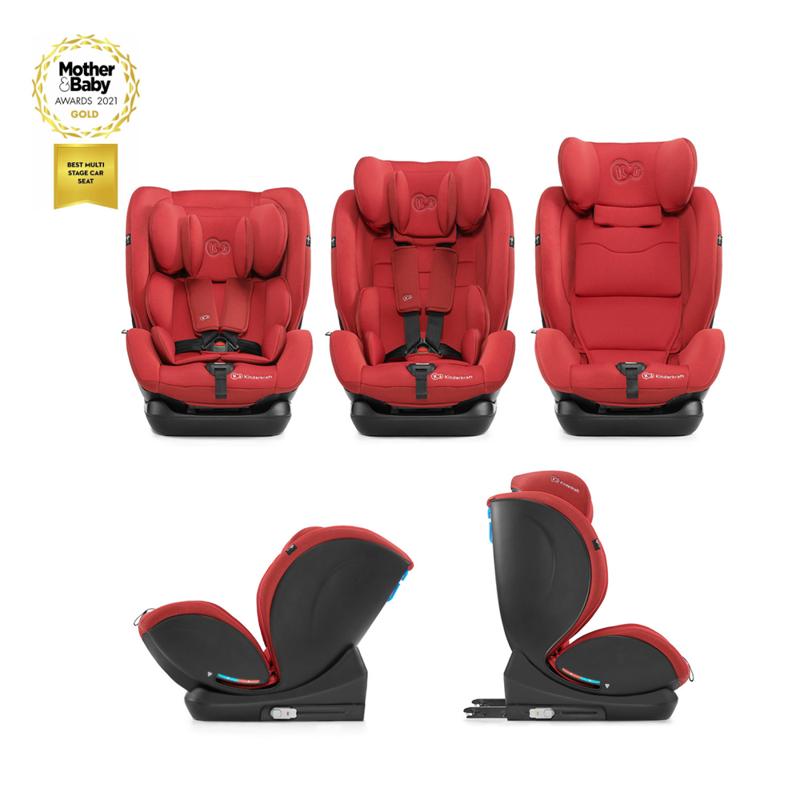 Autosedačka MyWay Isofix red 0-36 kg Kinderkraft