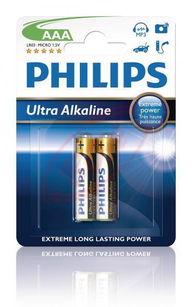 BORGY Batérie Ultra Alkaline AAA - 2ks
