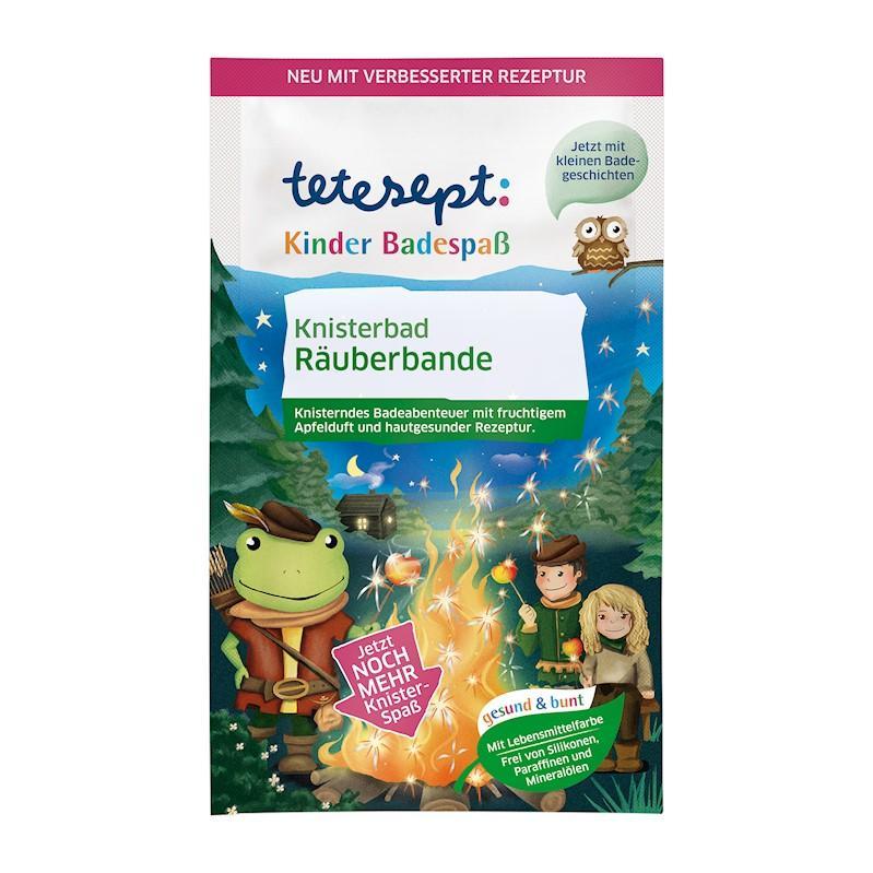 TETESEPT Kúpeľová soľ pre deti Lúpežníci 50 g