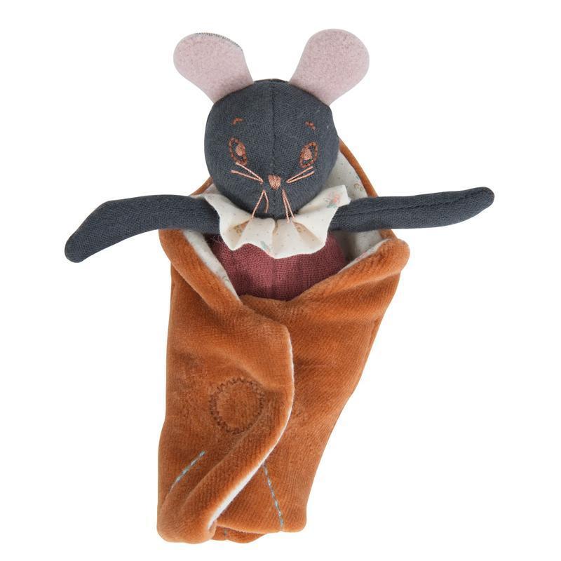 MOULIN ROTY Malá myška Rose v zavinovačke