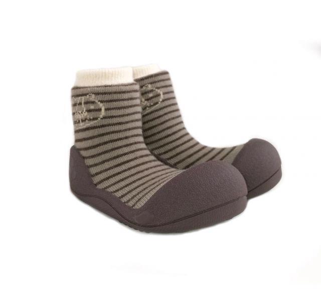 ATTIPAS Topánočky detské Forest Brown S