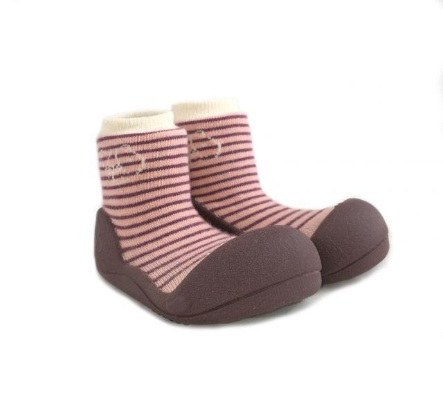 ATTIPAS Topánočky detské Forest Pink M
