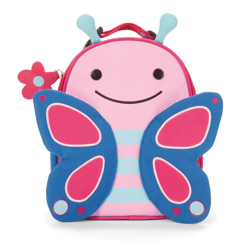 SKIP HOP Zoo batôžtek desiatový Motýlik 3+