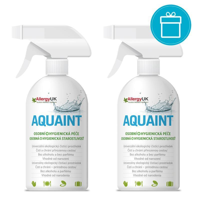 2x AQUAINT 100% ekologická čistiaca voda 500 ml