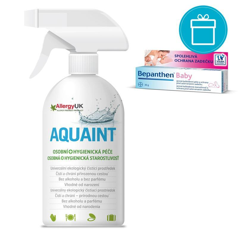 BEPANTHEN® Baby Masť (30 g) + AQUAINT 500 ml