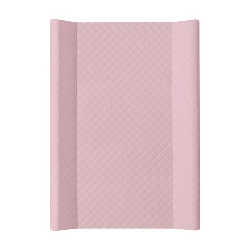CEBA Podložka přebalovací měkká 2hranná 70 x 50 cm CARO Pink Ceba