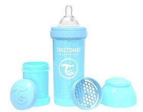 TWISTSHAKE Fľaša dojčenská Anti-Colic 260 ml (2m+) pastelovo modrá,  V001606